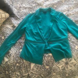 Missomo Supply Co. Turquoise Blazer